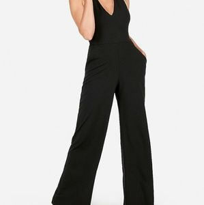 Express Cross Back Wide-Leg Jumpsuit- New w/ tags